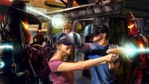 Game thực tế ảo VR phục vụ cho giải trí cá nhân và các sự kiện truyền thông