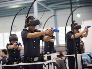 virtual reality projects in training police officers and other specialized operations
