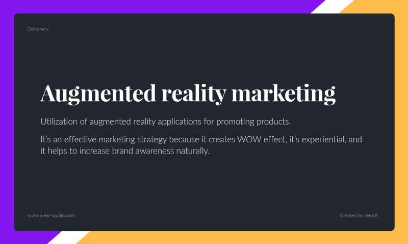 Ứng dụng thực tế ảo tăng cường trong Truyền thông Marketing là ý tưởng mới