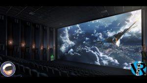 Phòng chiếu phim thực tế ảo 3D, phòng tương tác ảo, các phòng media công nghệ mới nhất