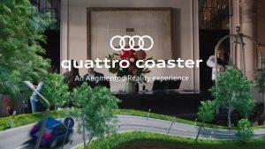 Audi ứng dụng ar cho người dùng chơi và trải nghiệm các tính năng, sản phẩm mới của mình