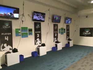 Phòng game thực tế ảo VR phục vụ cho sự kiện truyền thông