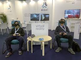 Phòng chơi game thực tế ảo, các thiết bị tương tác mới, tạo sự hấp dẫn cho khu giải trí _vrtech