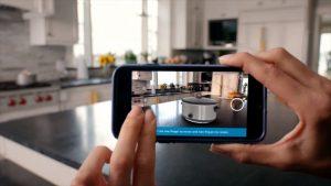 Xu hướng tiếp thị (markeitng) với công nghệ thực tế tăng cường AR