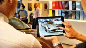 Ferrari sử dụng AR app cho quảng bá thương hiệu sản phẩm và bán hàng