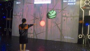 Các game thực tế ảo không chạm hay còn gọi là game kinect