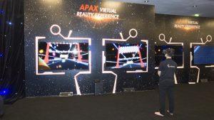 Gamevr tại sự kiện của APAX