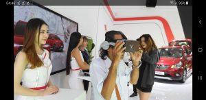 Triển lãm oto của vinfast dùng GamVR thực tế ảo để thu hút khách