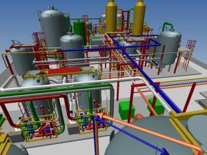 Các dự án cũng cần dựng 3D phối cảnh để giới thiệu về chức năng