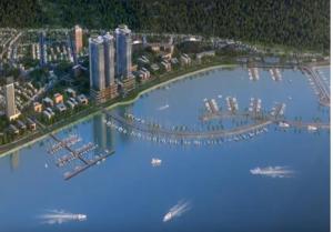 Một Góc dựng phối cảnh 3D cho dự án bất động sản lớn