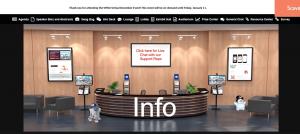 Xây dựng không gian ảo cho các triển lãm số