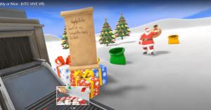 Góp quà giáng sinh với game VR