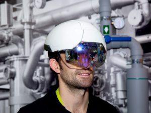 Dự án trong dầu khí sử dụng kính ar của Daqri