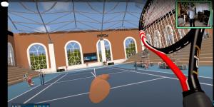 Game chơi Tennis với kính VR