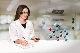 Thực hành trong môn hóa học với công nghệ MR